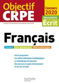 Objectif CRPE Français 2020