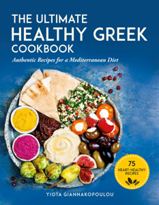 The Ultimate Healthy Greek Cookbook Book Cover