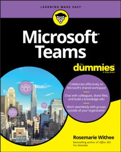 Microsoft Teams For Dummies Copertina del libro