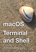 macOS Terminal and shell Book Cover