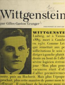 Ludwig Wittgenstein La couverture du livre martien