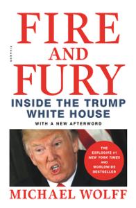 Fire and Fury La couverture du livre martien