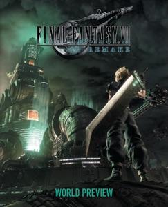 Final Fantasy VII Remake: World Preview Book Cover