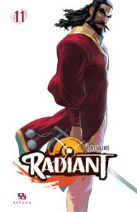 Radiant - Tome 11 La couverture du livre martien