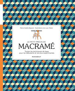 Le petit précis de macramé La couverture du livre martien