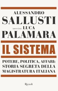 Il Sistema di Alessandro Sallusti & Luca Palamara Copertina del libro