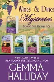Wine & Dine Mysteries Boxed Set (Books 1-5)