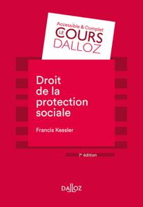 Droit de la protection sociale - 7e ed. Couverture de livre