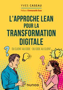 L'approche Lean pour la transformation digitale Couverture de livre