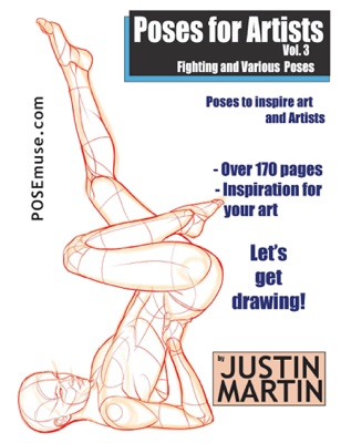 Poses for Artists Volume 3: Fighting & Various Poses