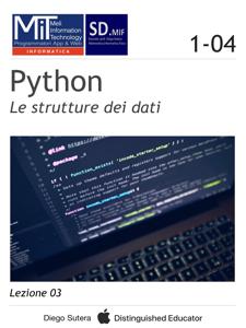 Python - Le strutture dei dati Copertina del libro