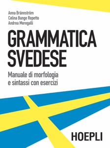 Grammatica svedese Libro Cover