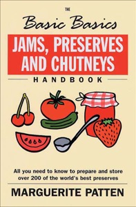 The Basic Basics Jams, Preserves and Chutneys Handbook Door Marguerite Patten Boekomslag