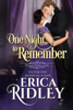 Erica Ridley - One Night to Remember artwork