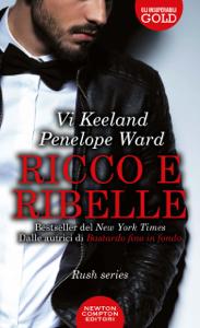 Ricco e ribelle Libro Cover