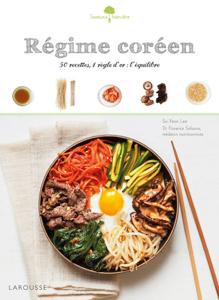 Régime coréen Couverture de livre