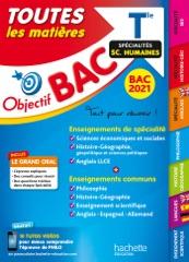 Objectif Bac - Term Enseignements communs+ Spécialités Maths-SES-Histoire-Géo-Langues BAC 2021