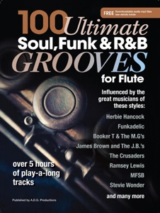 100 Ultimate Soul, Funk and R&B Grooves for Flute Book Cover