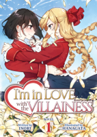 Inori - I'm in Love with the Villainess (Light Novel) Vol. 1 artwork