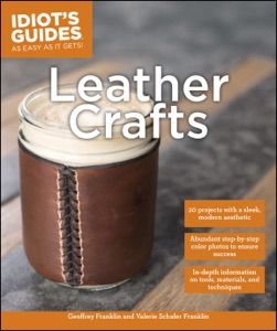 Leather Crafts Book Cover