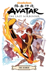 Avatar: The Last Airbender--The Search Omnibus Book Cover