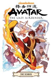 Avatar: The Last Airbender--The Search Omnibus Boekomslag