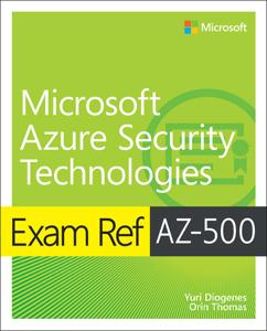 Exam Ref AZ-500 Microsoft Azure Security Technologies Boekomslag