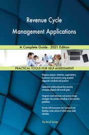 Download Revenue Cycle Management Applications A Complete Guide - 2021 Edition
