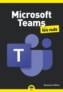 Microsoft Teams pour les Nuls poche Couverture de livre