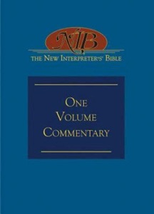 The New Interpreter's® Bible One-Volume Commentary Book Cover