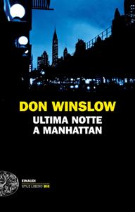 Ultima notte a Manhattan Copertina del libro