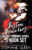 Stephanie Queen - Boston Brawlers Hockey Romance 3 Book Set  artwork