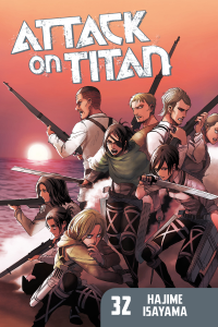 Attack on Titan Volume 32 Book Cover
