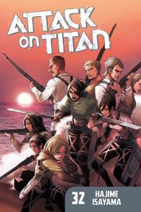 Attack on Titan Volume 32 Book Cover