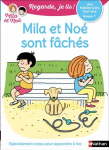 Une histoire à lire tout seul N1:Mila et Noé sont fâchés-EFL3 Couverture de livre
