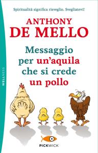 Messaggio per un' aquila che si crede un pollo Copertina del libro