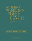 Nutrient Requirements of Beef Cattle Book Cover