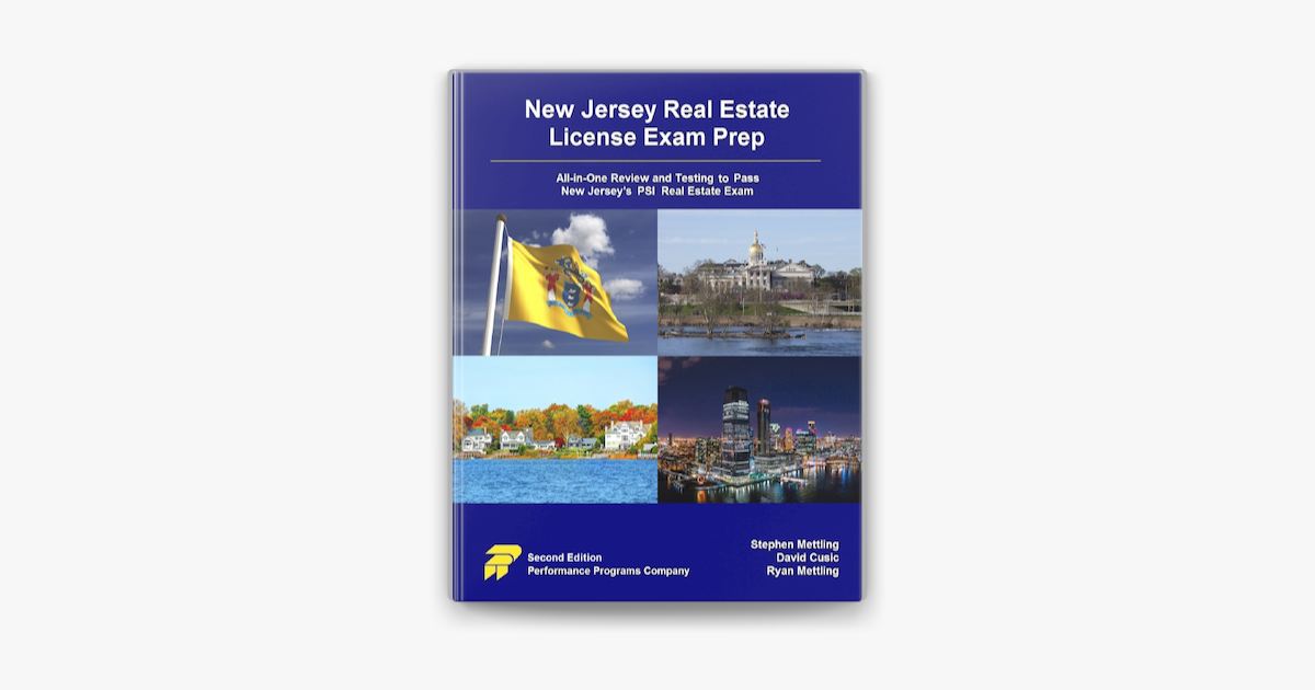 New Jersey Real Estate License Exam Prep All In One Review And Testing To Pass New Jersey S Psi Real Estate Exam On Apple Books