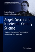 Angelo Secchi And Nineteenth Century Science
