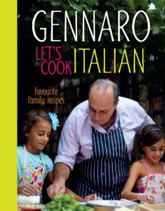 Gennaro Let's Cook Italian Boekomslag
