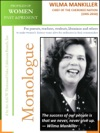 Profiles Of Women Past  Present  Wilma Mankiller Chief Of The Cherokee Nation 1945  2010
