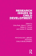 Research Issues In Child Development