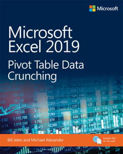 Microsoft Excel 2019 Pivot Table Data Crunching Jelen/Alexande Couverture de livre