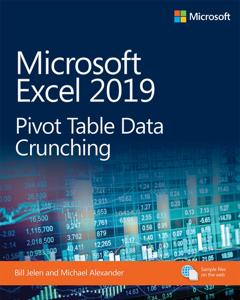 Microsoft Excel 2019 Pivot Table Data Crunching Jelen/Alexande Couverture de livre