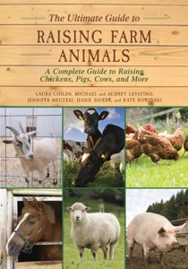 The Ultimate Guide to Raising Farm Animals Book Cover