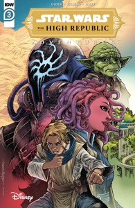 Star Wars: The High Republic Adventures #3 Book Cover