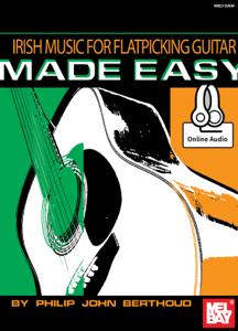 Irish Music for Flatpicking Guitar Made Easy La couverture du livre martien