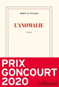 L'anomalie par Hervé Le Tellier Couverture de livre