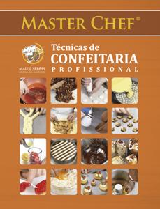 Master Chef Técnicas de Confeitaria Profissional Capa de livro