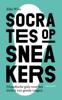 Elke Wiss - Socrates op sneakers kunstwerk